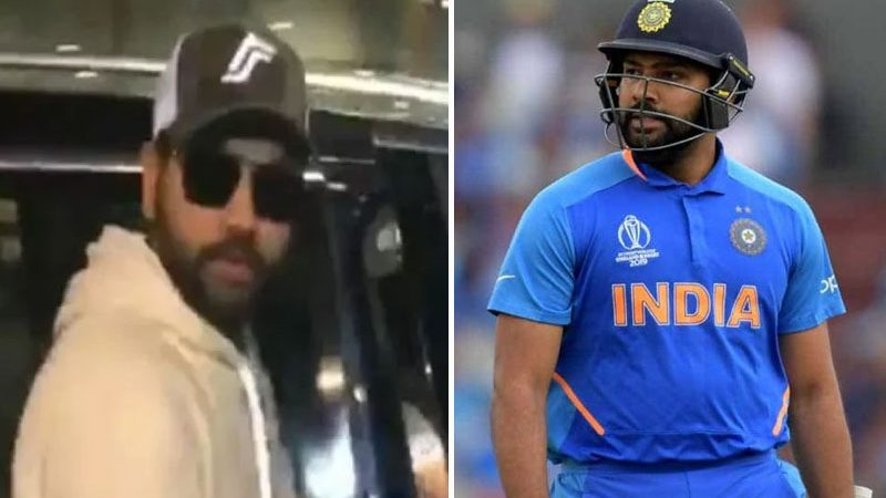 Rohit Sharma Returns To India Ahead Of Teammates, Rohit was disappointed after being out of the World Cup 2019