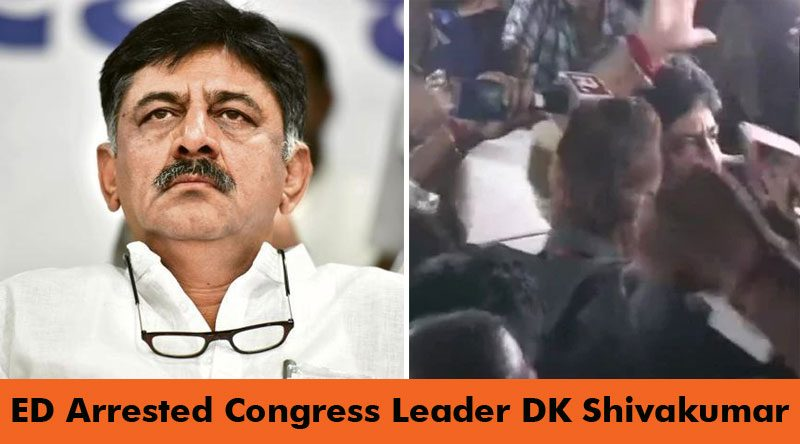Congress Troubleshooter DK Shivkumar Arrested For Money Laundering, Produced In Court Today