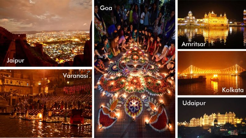You can see the amazing view of the festival by visiting these places in Diwali