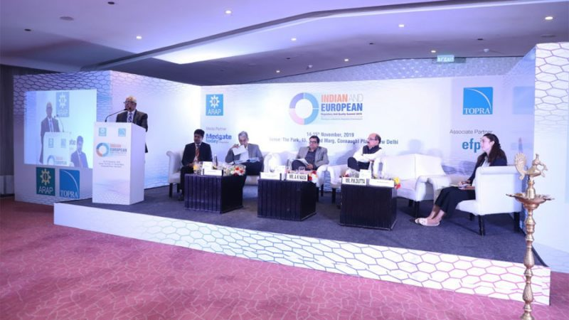 Two Days Conference Organized on 'Indian and European Regulatory & Quality Summit 2019'