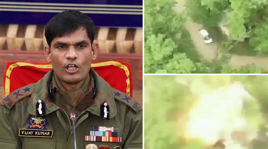 Jammu and Kashmir police said on Pulwama IED attack, 40 kg was explosive and security forces were on target