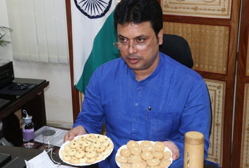 Bamboo Biscuits And Honey Launches, CM of Tripura Said- These Two Will Add Another Feather To Our Cap