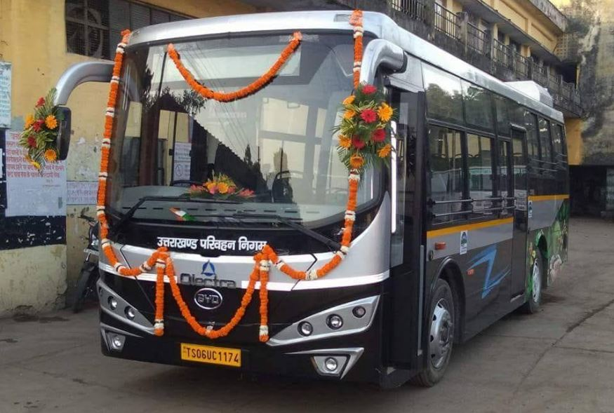 Dehradun Smart City's First Electric Bus Will Run On The Roads Soon