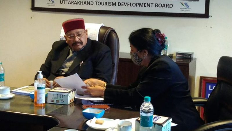 Maharaj Inquired About Technical Aspects Of The Song Dam Project, Gave Necessary Instructions To Officials In A Review Meeting