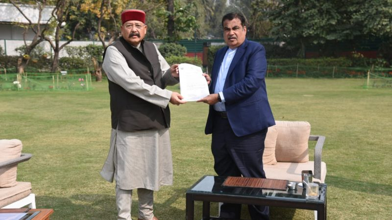 Satpal Maharaj Met Union Road Transport And Highways Minister Nitin Gadkari, All National Highways Will Be Fit In Uttarakhand