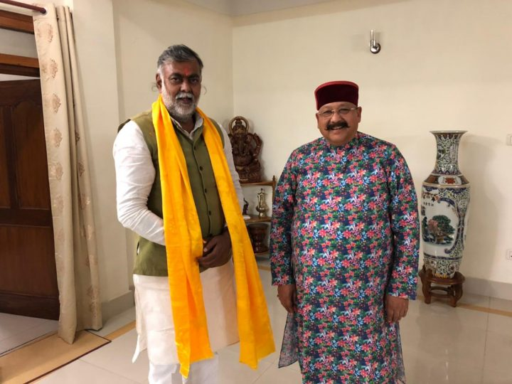 Satpal Maharaj reached West Bengal for the election campaign, discussion with Union Minister Prahlad Patel regarding party vision