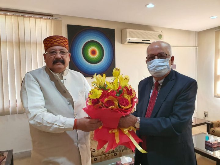Satpal Maharaj's meeting with Nepal's Ambassador, discussion on many topics including Pancheshwar Dam