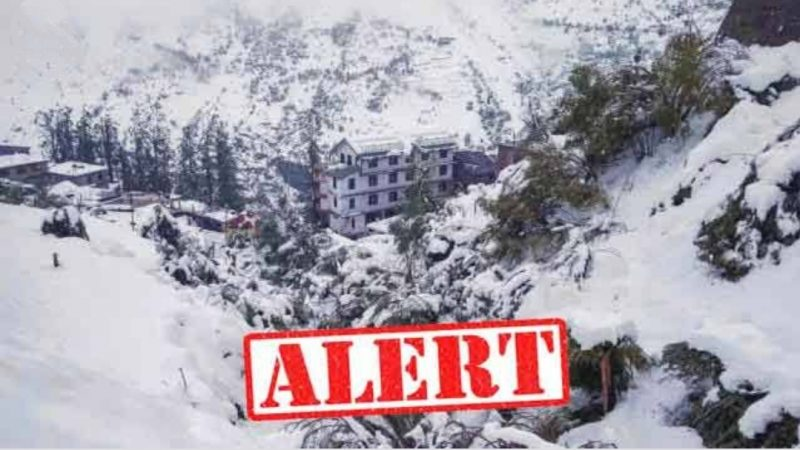 Yellow Alert is expected in Uttarakhand hilly areas till April 7 due to rain and hail