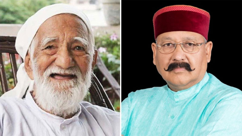 Environmentalist Sunderlal Bahuguna's death is an irreparable loss to the state as well as the entire country: Satpal Maharaj